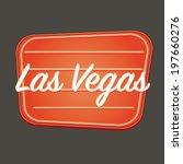 las vegas sign | Shutterstock . vector #197660276