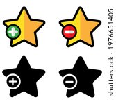 bookmark buttons icon set. add...