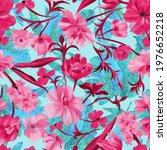 summer floral ornament....   Shutterstock . vector #1976652218