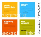four content color squares for...   Shutterstock .eps vector #1976654552