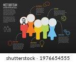 company team dark presentation...   Shutterstock .eps vector #1976654555