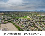 Aerial Panorama View In The...