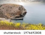 view towards the dock at...   Shutterstock . vector #1976692808