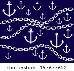 illustration anchors and chain