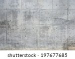 Raw Or Bare Concrete Wall  Wit...