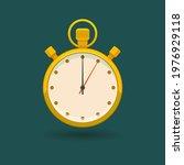 vector yellow timer icon....   Shutterstock .eps vector #1976929118