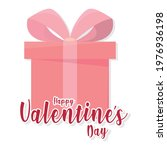 happy valentines day card with...   Shutterstock .eps vector #1976936198
