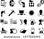 health and fitness icons vector ...   Shutterstock .eps vector #1977035495