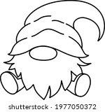 set. vector hand drawn cute... | Shutterstock .eps vector #1977050372