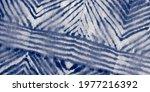 Blue Tie Dye Tiedye Print. Navy ...