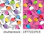 cute hand drawn doodle summer...   Shutterstock .eps vector #1977221915