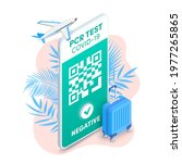 electronic negative pcr... | Shutterstock .eps vector #1977265865