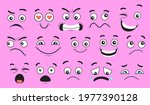 comic face expressions set.... | Shutterstock .eps vector #1977390128