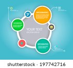 modern simply infographic... | Shutterstock .eps vector #197742716