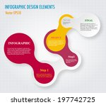 modern simply infographic step... | Shutterstock .eps vector #197742725