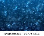 Abstract vector background looks like bubble water. - stock vector