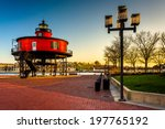 seven foot knoll lighthouse at... | Shutterstock . vector #197765192