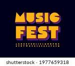 vector colorful emblem music...   Shutterstock .eps vector #1977659318