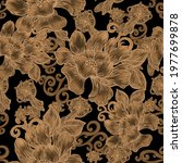 beautiful seamless pattern with ... | Shutterstock . vector #1977699878