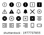 set of 24 icons in linear style   Shutterstock .eps vector #1977737855