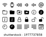 set of 24 icons in linear style ...   Shutterstock .eps vector #1977737858