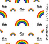 pride month at june 2021 lgbt ...   Shutterstock .eps vector #1977743618