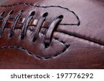 Classic Old Leather Football...