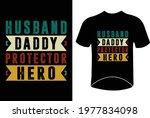husband daddy protector hero... | Shutterstock .eps vector #1977834098