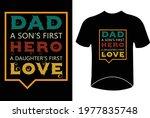 dada son's first hero daughters ... | Shutterstock .eps vector #1977835748