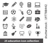 education icons | Shutterstock .eps vector #197788442