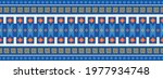 seamless vector border in...   Shutterstock .eps vector #1977934748