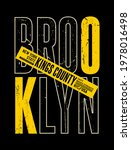 brooklyn  nyc  modern and... | Shutterstock .eps vector #1978016498
