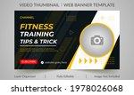 fitness gym training class... | Shutterstock .eps vector #1978026068