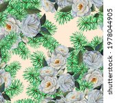 seamless pattern watercolor... | Shutterstock . vector #1978044905