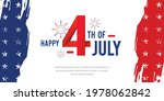happy 4th of july design with... | Shutterstock .eps vector #1978062842
