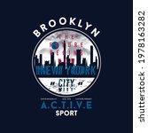 brooklyn  active sport  new...   Shutterstock .eps vector #1978163282