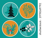 illustration with abctract fir... | Shutterstock .eps vector #1978169792