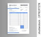 white business invoice design... | Shutterstock .eps vector #1978197278