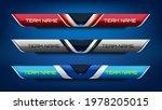 scoreboard broadcast and lower... | Shutterstock .eps vector #1978205015