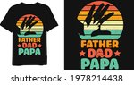 father dad papa vintage t shirt ... | Shutterstock .eps vector #1978214438