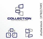 window arrangement logo design...   Shutterstock .eps vector #1978217495