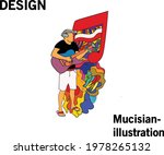 Musician Illustration With...