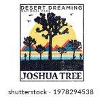 desert dreaming  joshua tree...   Shutterstock .eps vector #1978294538