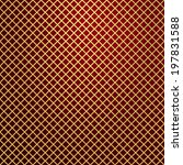 gold lattice on red background | Shutterstock . vector #197831588