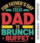promoted to daddy  for father's ... | Shutterstock .eps vector #1978395725