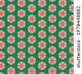 70s retro vintage green  pink... | Shutterstock .eps vector #1978448882