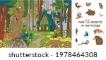 forest glade near the forester... | Shutterstock .eps vector #1978464308