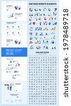 one page website design...   Shutterstock .eps vector #1978489718