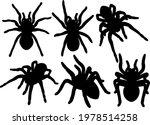 Tarantula Spiders In A Set....