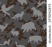 seamless camouflage pattern... | Shutterstock .eps vector #1978542875